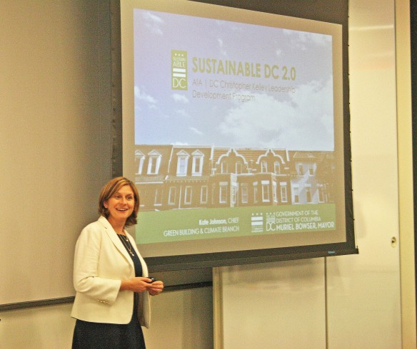 Photo of Presentation #1 - The Future of Our City: Sustainable DC